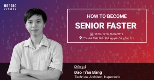 Workshop: How to become senior faster? - Sự kiện tại Nordic Coder