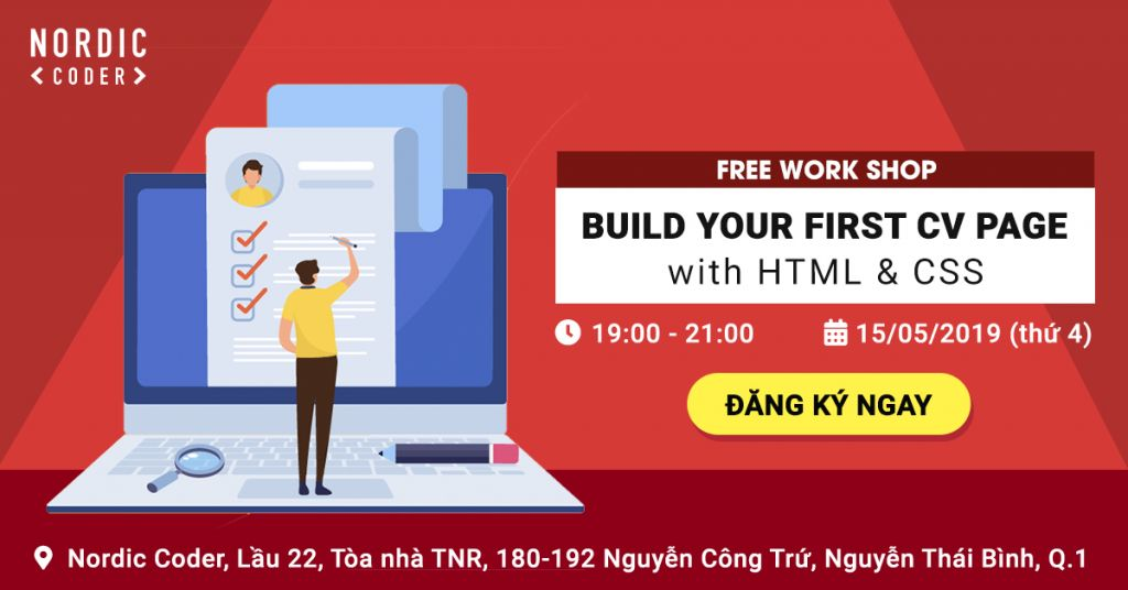 Workshop: Build your first CV page with HTML5
