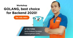Tham gia Workshop: Golang, best choice for backend 2020! at Nordic Coder